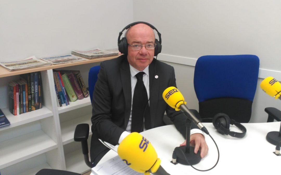 Participación del Vicepresidente CAF Almería en la tertulia de Ser Levante. 22/01/2019.