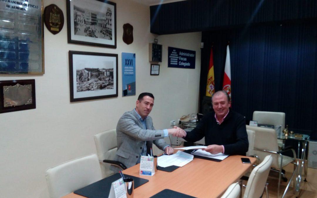 Convenio entre MURPROTEC y CAF Almería.