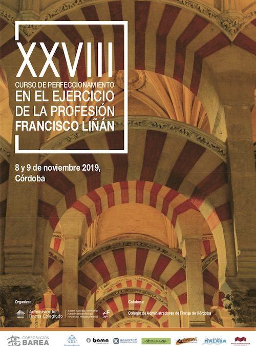 XXVIII Curso de Perfeccionamiento en la Profesión. Francisco Liñán