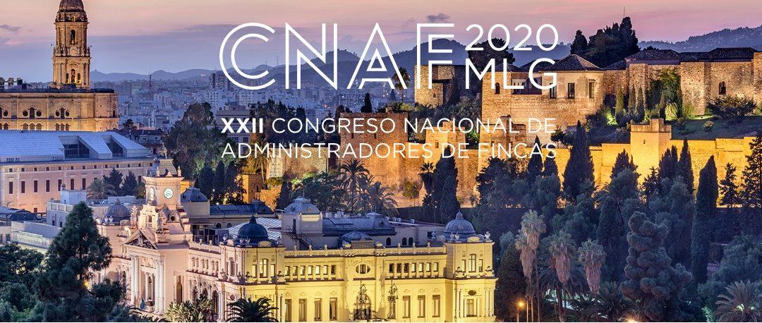XXII CONGRESO NACIONAL DE ADMINISTRADORES DE FINCAS 2020