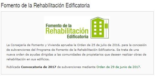 SESION INFORMATIVA PROGRAMA REHABILITACION EDIFICIOS Y VIVIENDAS