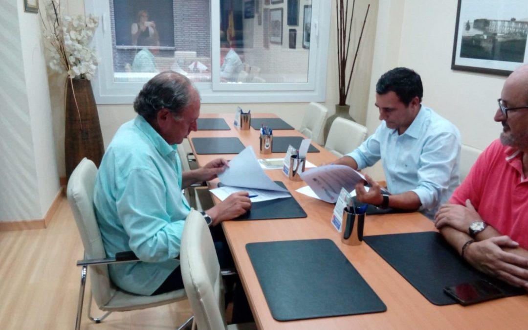 FIRMA CONVENIO DE COLABORACION ENTRE CAF ALMERIA Y GRUPO LAE