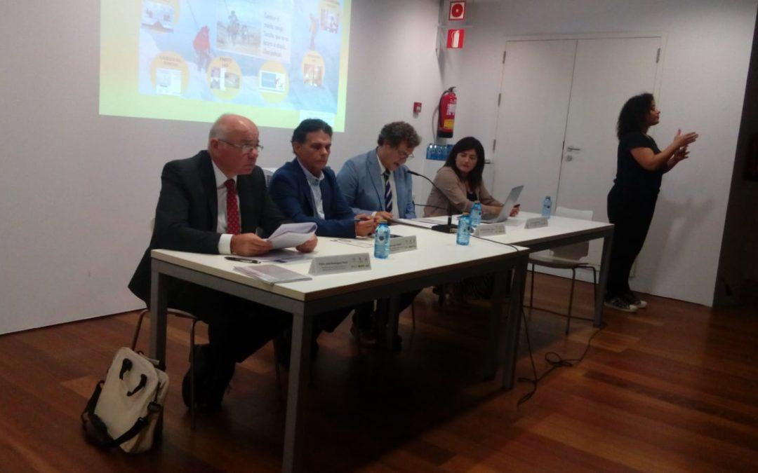 CAF Almería participa Jornada Accesibilidad.