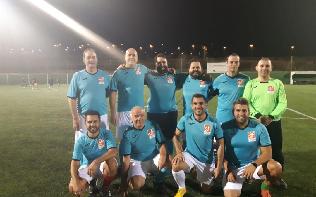 Participación de CAF Almeria en el Torneo Futbol 7 del Colegio de Abogados.