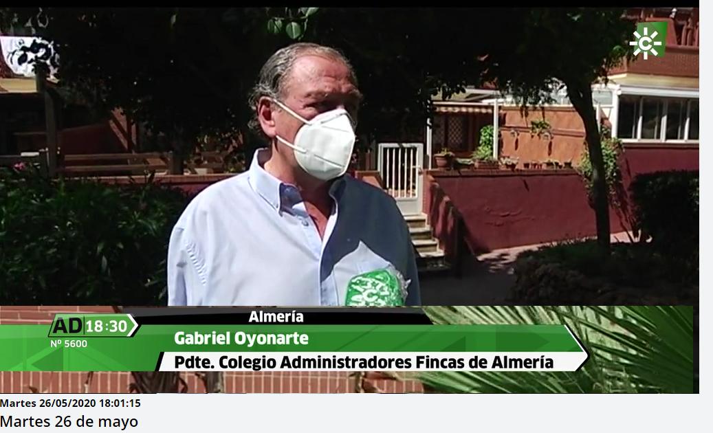 CAF Almería en Canal Sur TV