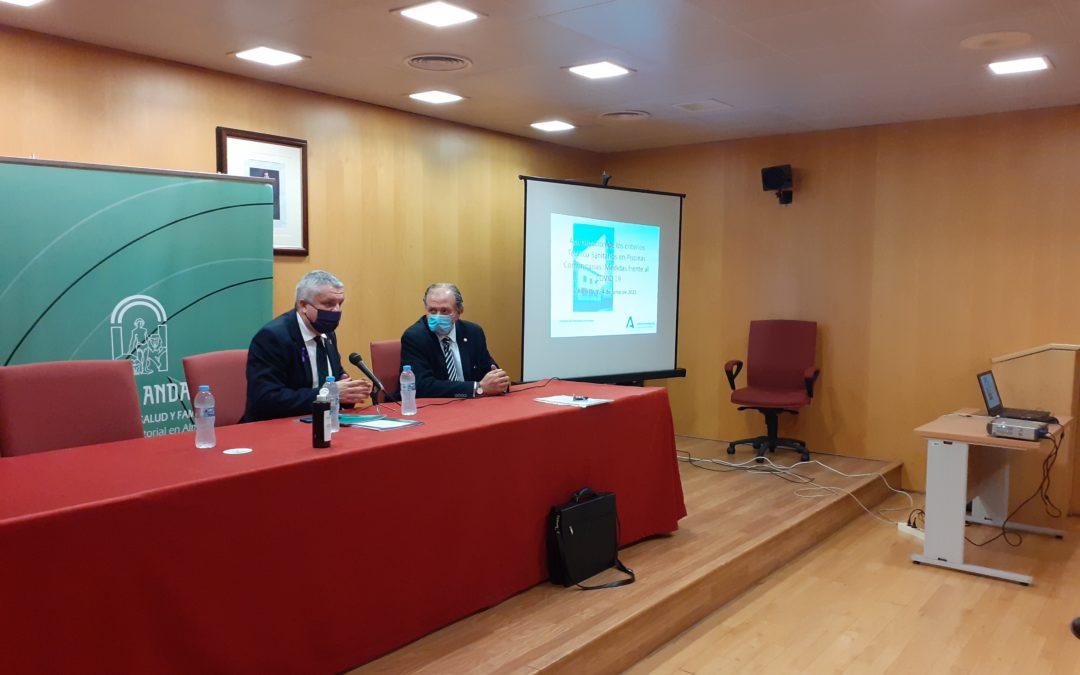 JORNADAS DE ACTUALIZACION DE LOS CRITERIOS TECNICO-SANITARIOS EN PISCINAS COMUNITARIAS, MEDIDAS FRENTE COVID-19