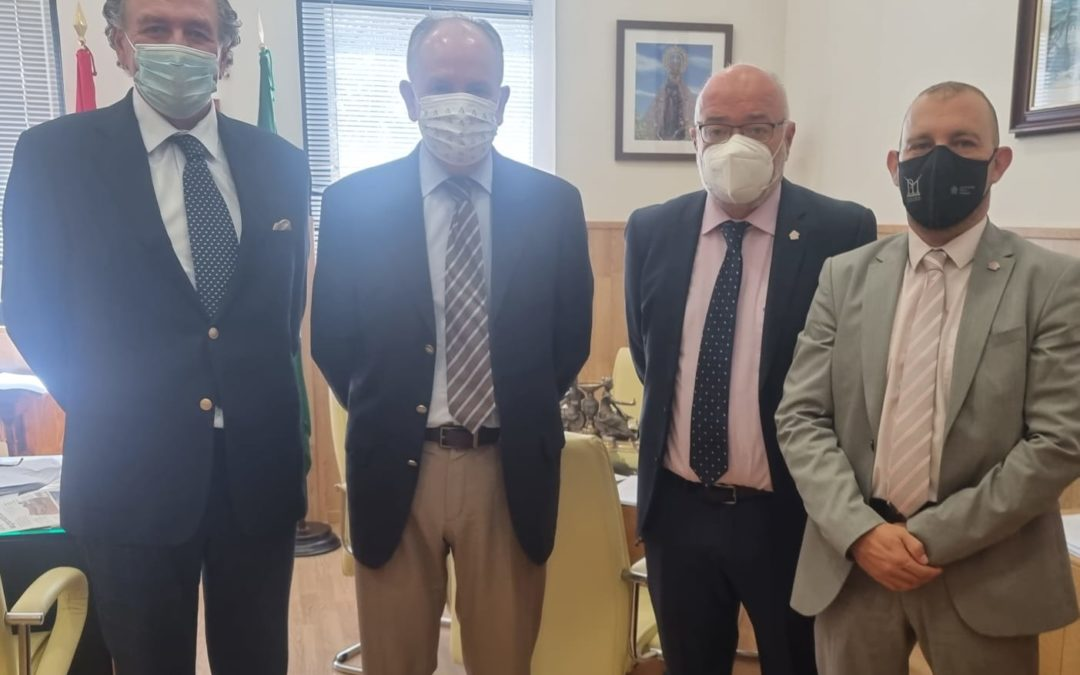 CAF ALMERIA se reunió con el Presidente de la Audiencia Provincial de Almería